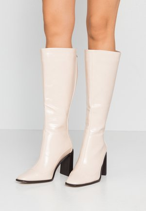 WIDE FIT CARRSON - High Heel Stiefel - nude