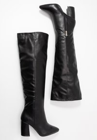 RAID Wide Fit - WIDE FIT TERRY - Over-the-knee boots - black - 3