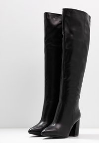 RAID Wide Fit - WIDE FIT TERRY - Over-the-knee boots - black - 4