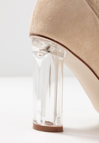 RAID Wide Fit - WIDE FIT DEIDRE - High heeled boots - nude - 2