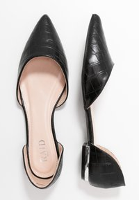 RAID Wide Fit - WIDE FIT AMY - Ballet pumps - black - 3