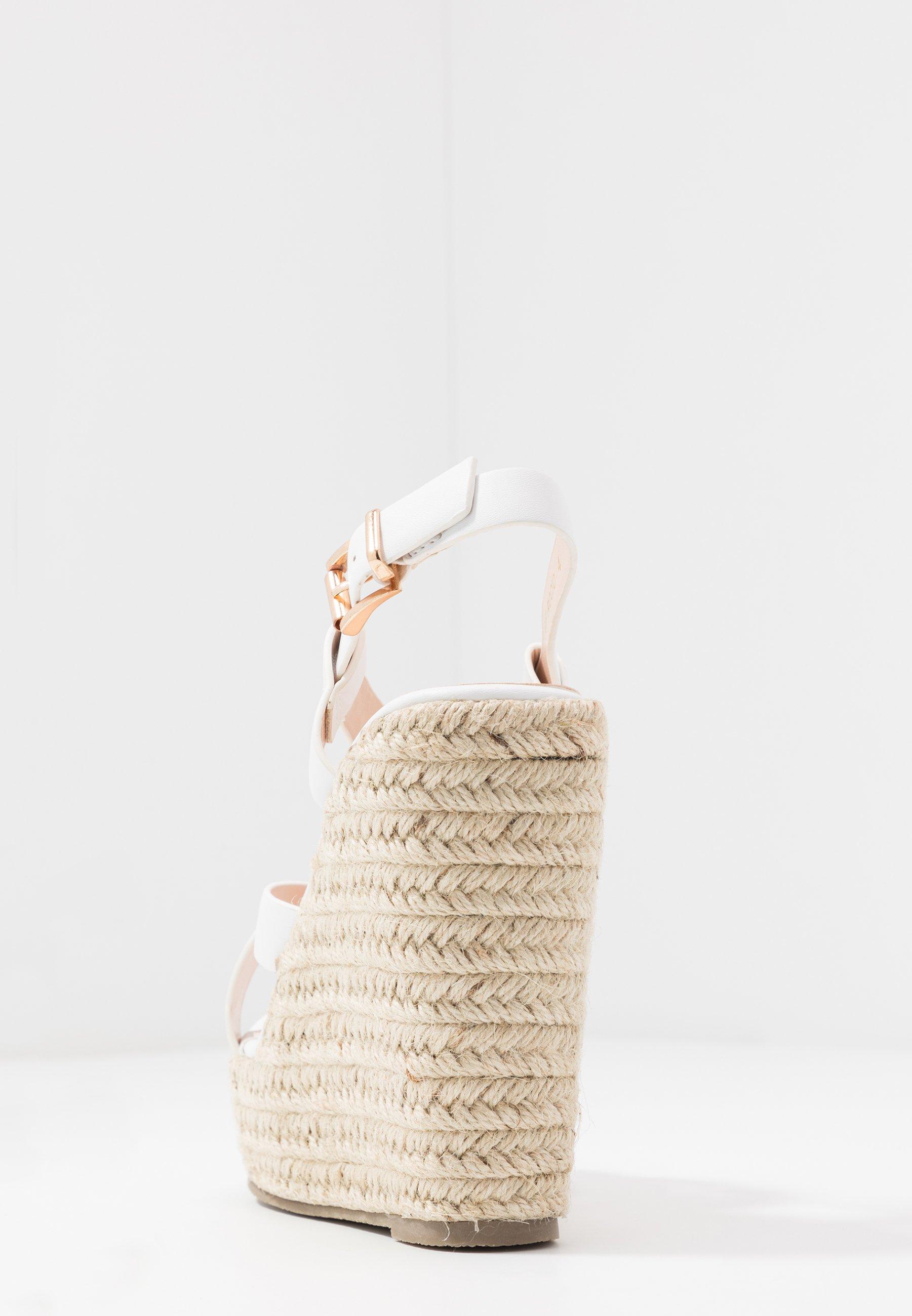 Raid Wide Fit Rocio - Sandaletter White