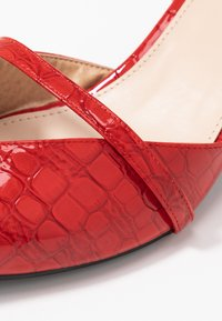 RAID Wide Fit - WIDE FIT PALOMA - Tacones - red - 2