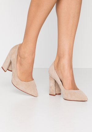 WIDE FIT NEHA - High heels - nude
