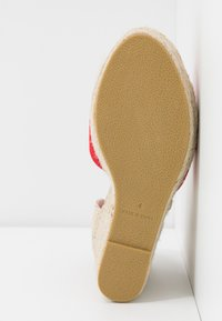 RAID Wide Fit - WIDE FIT DORIAN - Sandály na vysokém podpatku - red - 6