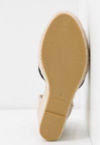 RAID Wide Fit - WIDE FIT DORIAN - Sandalen met hoge hak - black - 6