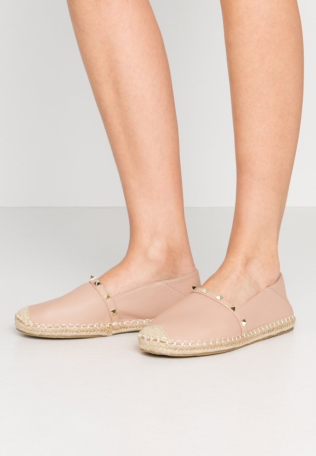 WIDE FIT TANISHA - Loafers - nude