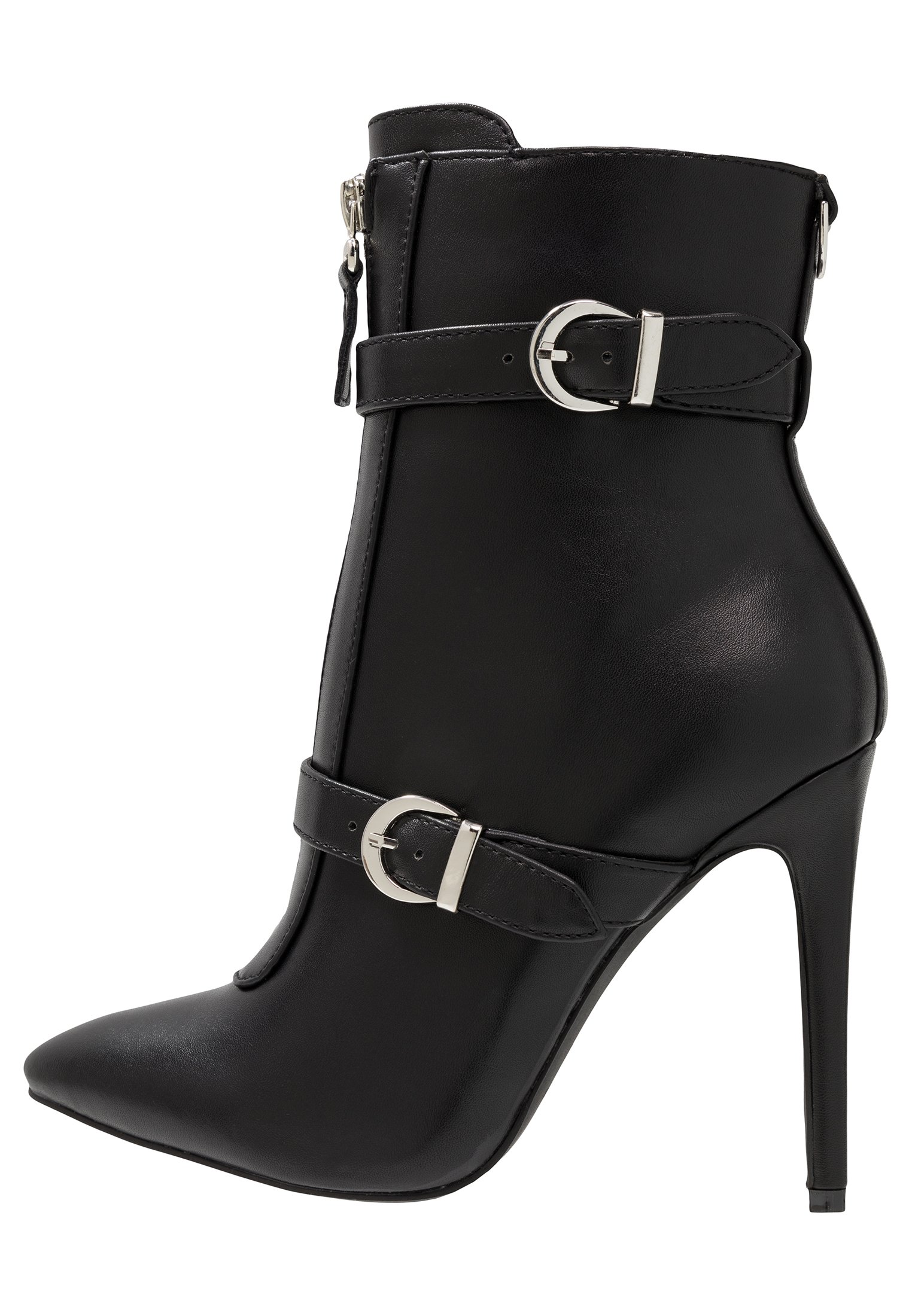 Raid Wide Fit Nyla - Bottines À Talons Hauts Black