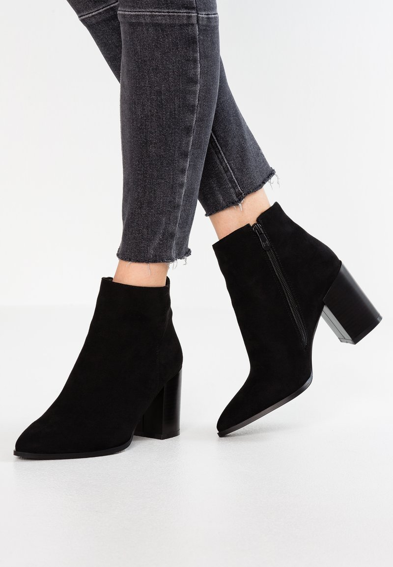 RAID Wide Fit - WIDE FIT NATALIA - Ankle boots - black