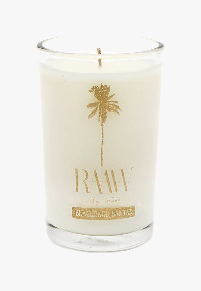 Raaw by Trice - BLACKENED SANTAL SCENTED CANDLE - Doftljus - -