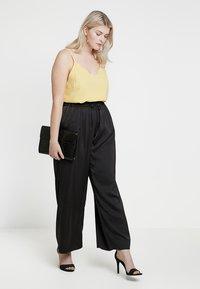 RACHEL Rachel Roy Curvy - EXCLUSIVE SONYA PANT - Trousers - black - 1
