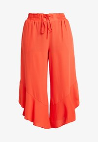 RACHEL Rachel Roy Curvy - EXCLUSIVE GIORGIA RUFFLE PANT - Trousers - radiant red - 4