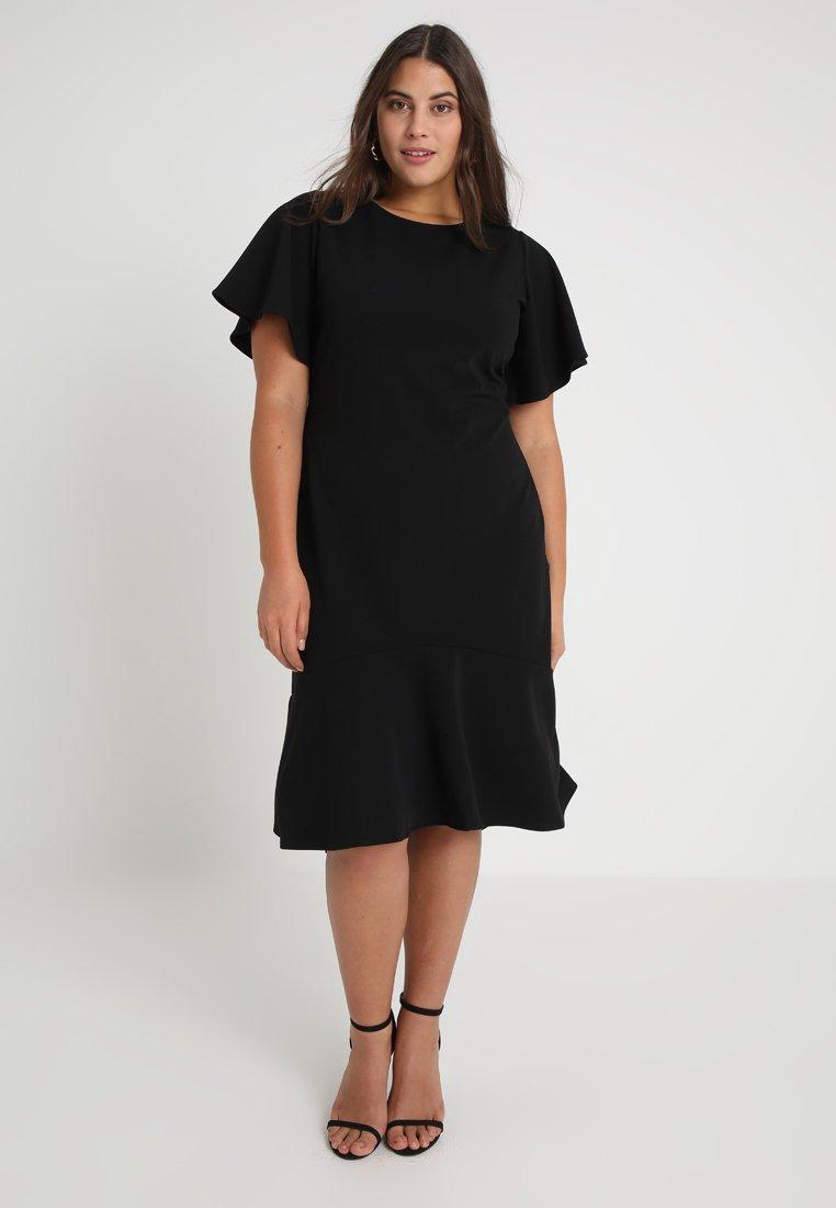 RACHEL Rachel Roy Curvy - EXCLUSIVE WILLOW DRESS - Freizeitkleid - black