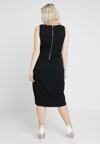 RACHEL Rachel Roy Curvy - EXCLUSIVE TANK DRESS - Shift dress - black - 2