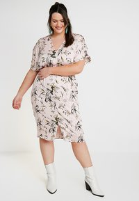 RACHEL Rachel Roy Curvy - EXCLUSIVE CAIT DRESS - Day dress - rose - 0