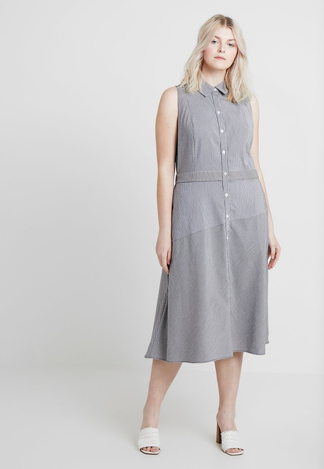 EXCLUSIVE REBECCA DRESS - Skjortekjole - eggshell combo
