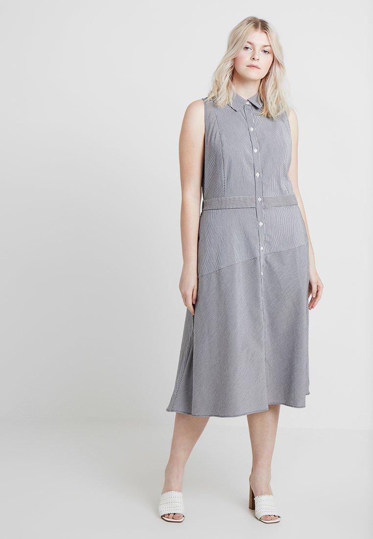 RACHEL Rachel Roy Curvy - EXCLUSIVE REBECCA DRESS - Shirt dress - eggshell combo