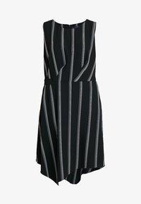 RACHEL Rachel Roy Curvy - EXCLUSIVE RACHEL ROY RINA STRIPE DRESS - Day dress - black/white - 4