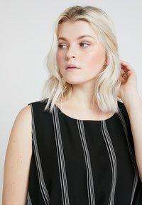RACHEL Rachel Roy Curvy - EXCLUSIVE RACHEL ROY RINA STRIPE DRESS - Day dress - black/white - 3