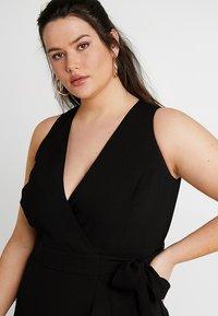 RACHEL Rachel Roy Curvy - EXCLUSIVE ETTA TRENCH DRESS - Day dress - black - 3