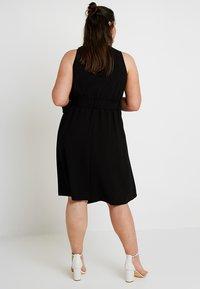 RACHEL Rachel Roy Curvy - EXCLUSIVE ETTA TRENCH DRESS - Day dress - black - 2