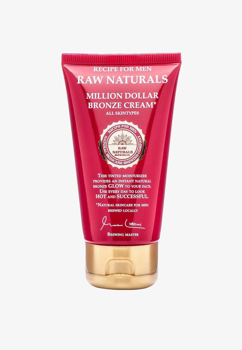 Raw Naturals - MILLION DOLLAR BRONZE CREAM - Dagcrème - -