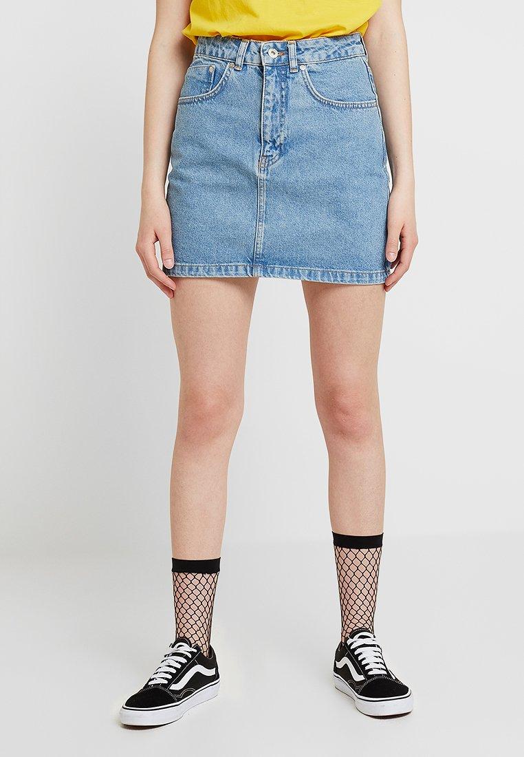 Ragged Jeans - SKIRT - Falda de tubo - light blue