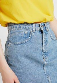 Ragged Jeans - SKIRT - Blyantnederdel / pencil skirts - light blue - 3