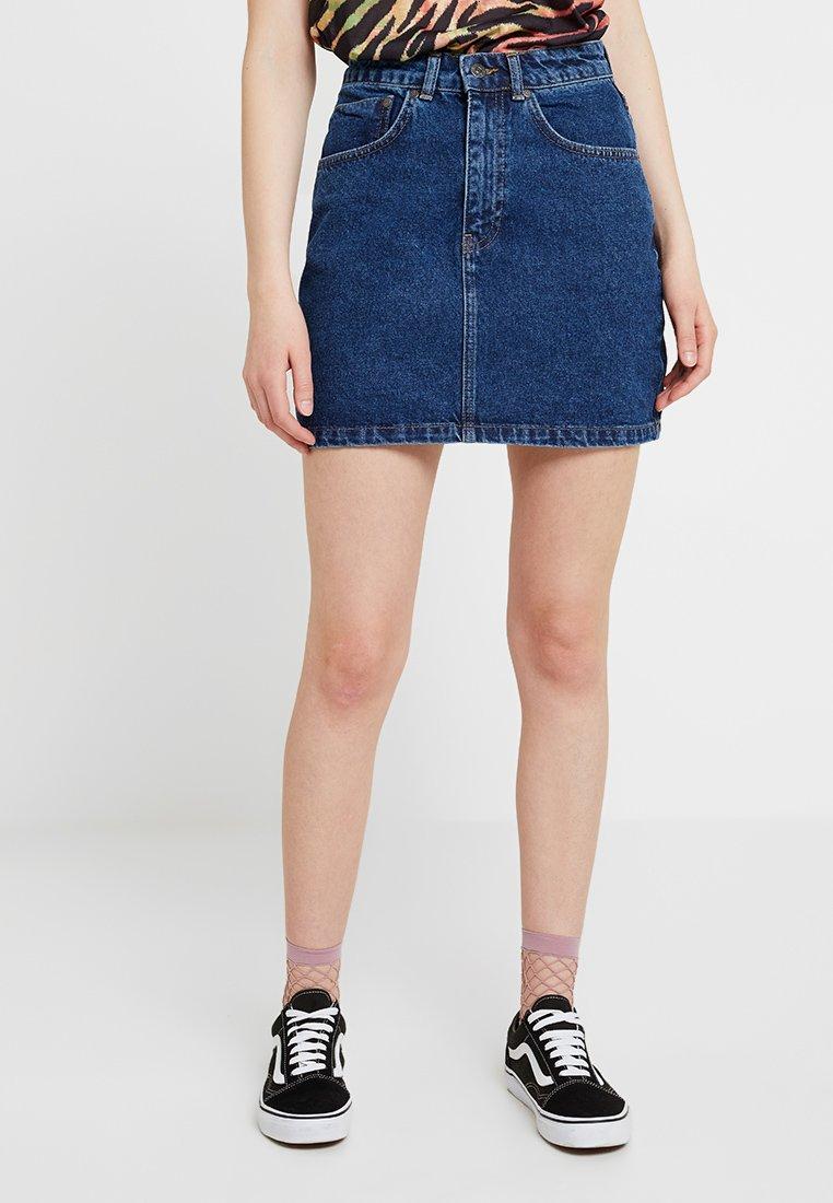 Ragged Jeans - SKIRT - Falda de tubo - indigo