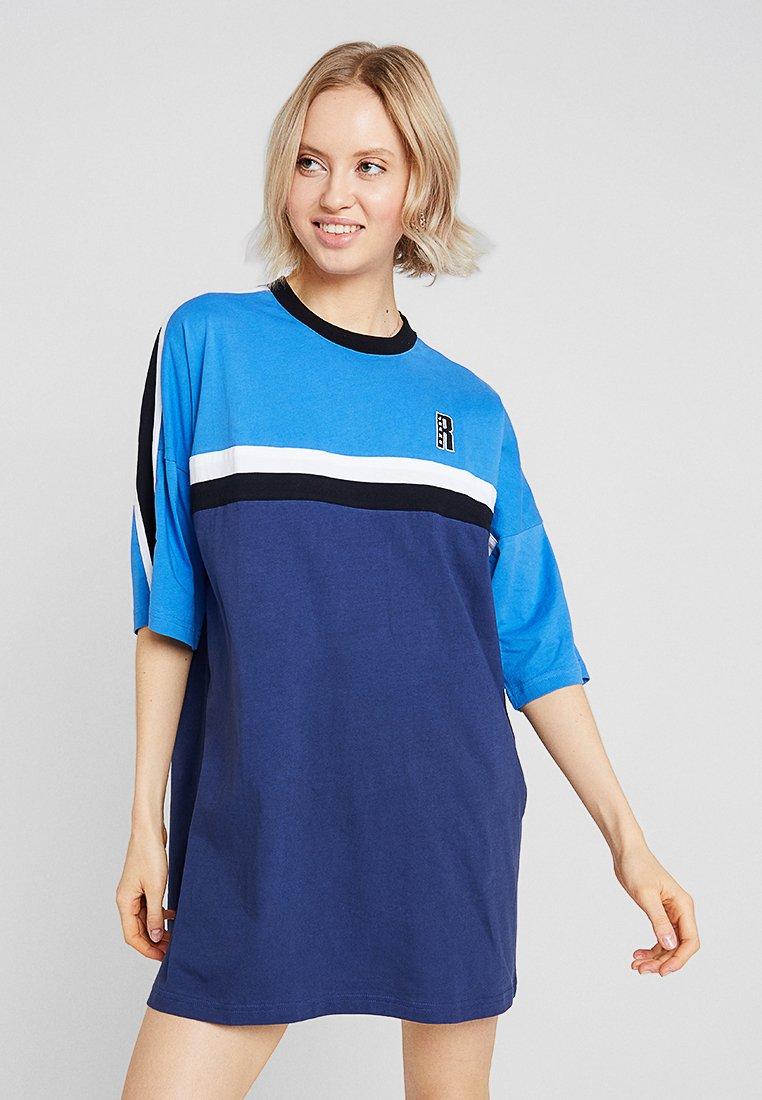 Ragged Jeans - PANEL DRESS - Vestido ligero - blue