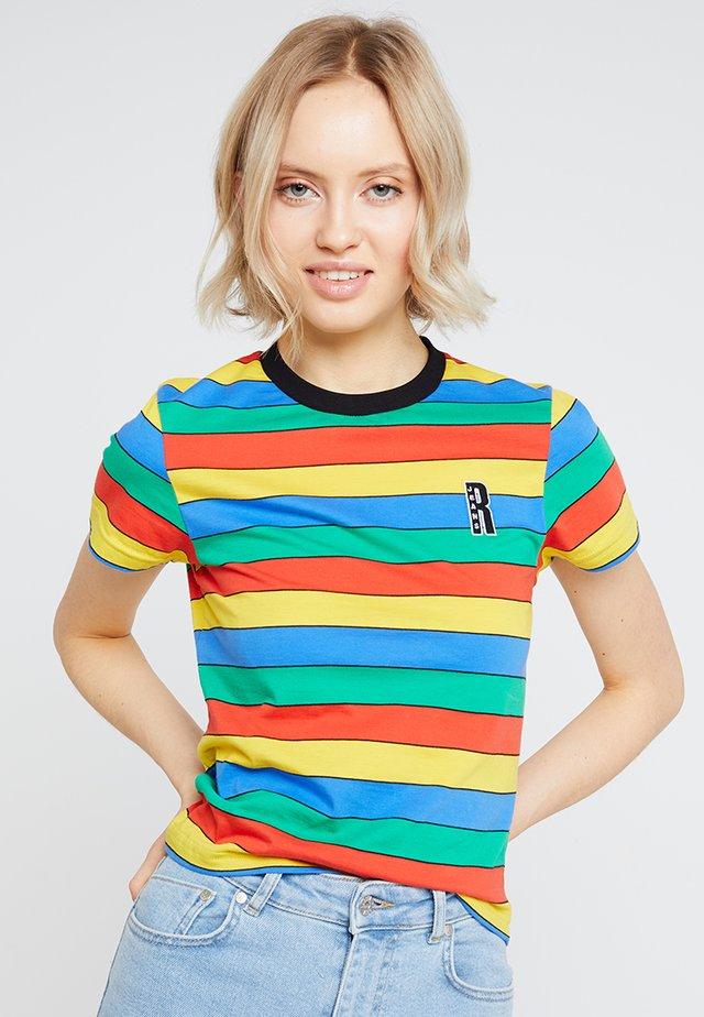 RAINBOW RINGER - Print T-shirt - multi
