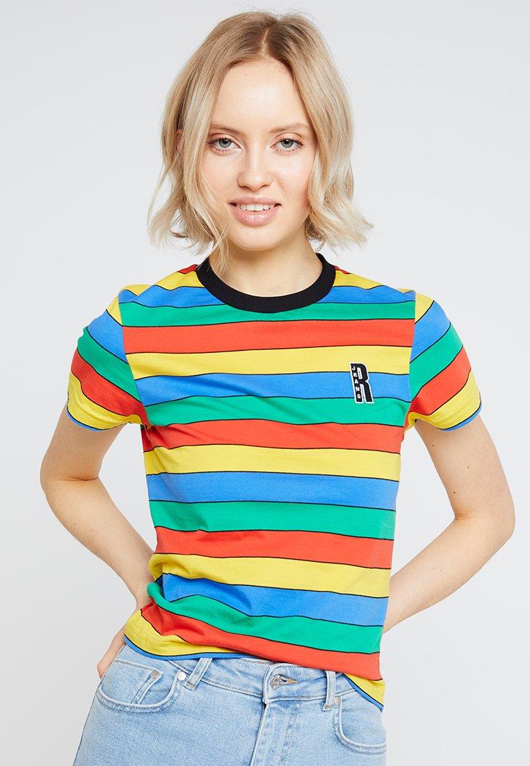 Ragged Jeans - RAINBOW RINGER - T-Shirt print - multi