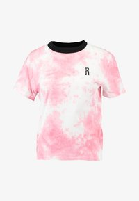 Ragged Jeans - TIE DYE TEE WITH LOGO EMBROIDERY - T-shirt print - pink - 4