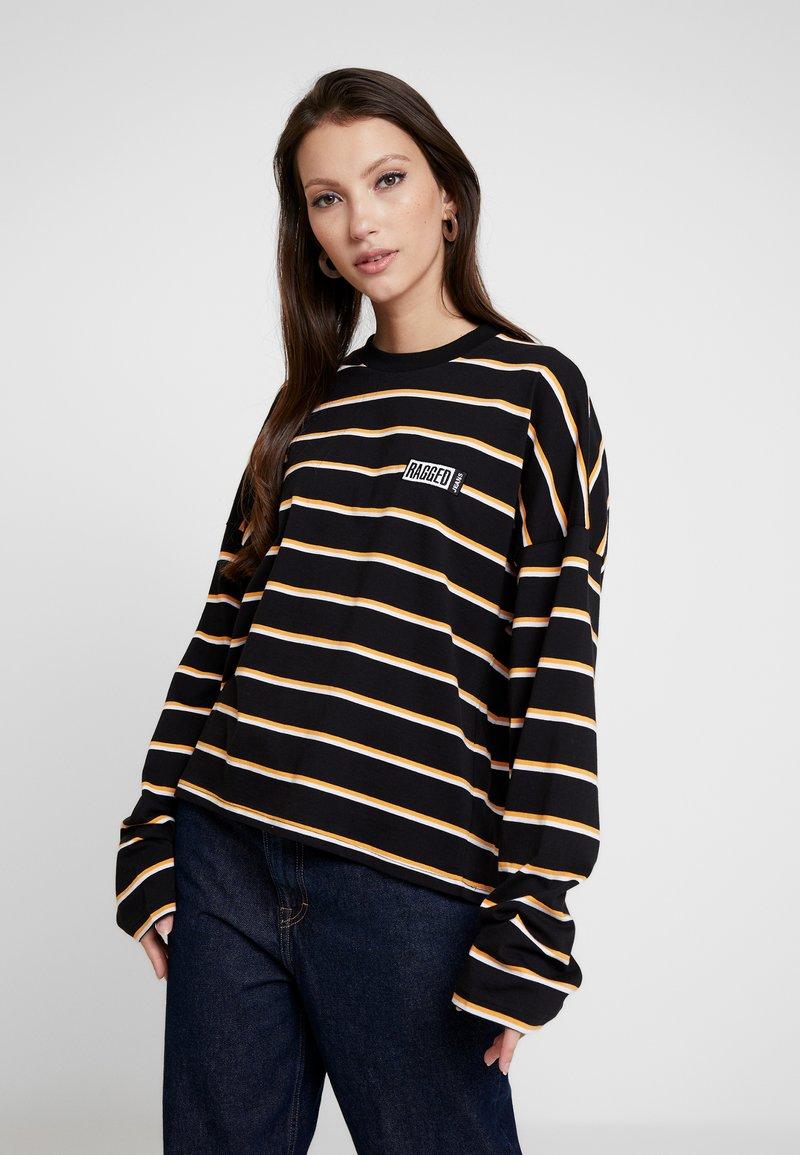 Ragged Jeans - PRAISE - T-shirt à manches longues - black and multi