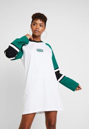 SPIRIT DRESS - Jerseyjurk - white and multi