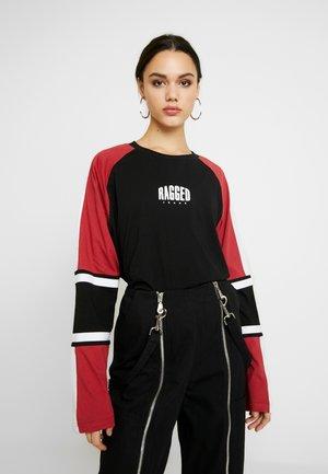 ORDER TEE - Maglietta a manica lunga - black/multi
