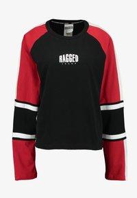 Ragged Jeans - ORDER TEE - Long sleeved top - black/multi - 5