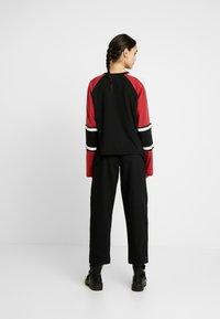 Ragged Jeans - ORDER TEE - Top sdlouhým rukávem - black/multi - 2