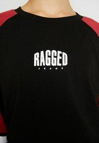 Ragged Jeans - ORDER TEE - Top sdlouhým rukávem - black/multi - 6