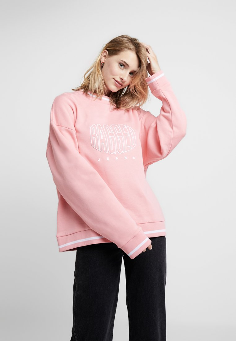 Ragged Jeans - EMBROIDED - Sweatshirt - pink