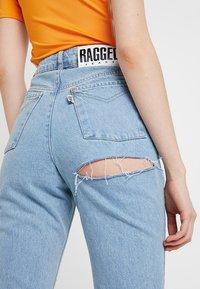 Ragged Jeans - BUTT CUT - Relaxed fit -farkut - light blue - 6