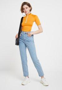 Ragged Jeans - BUTT CUT - Relaxed fit -farkut - light blue - 2