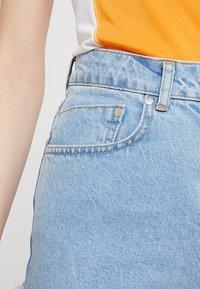Ragged Jeans - BUTT CUT - Relaxed fit -farkut - light blue - 4