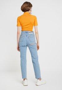 Ragged Jeans - BUTT CUT - Relaxed fit -farkut - light blue - 3