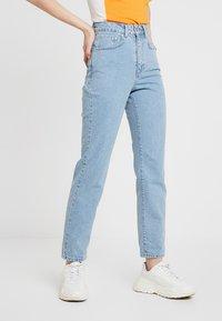 Ragged Jeans - BUTT CUT - Relaxed fit -farkut - light blue - 0