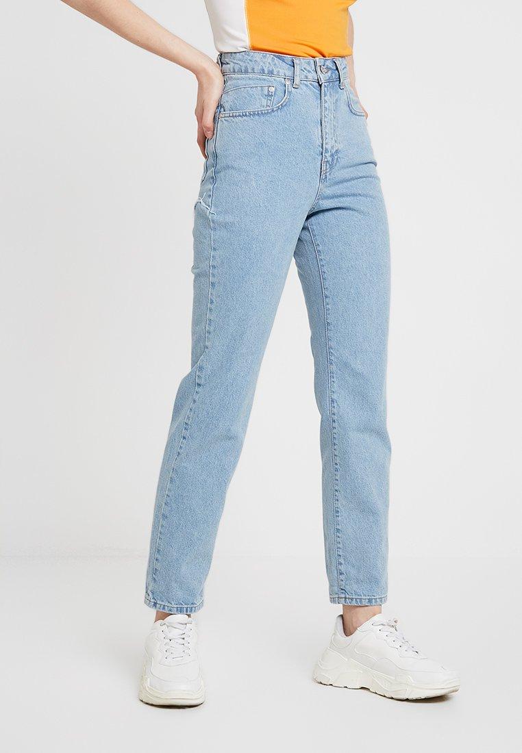 Ragged Jeans - BUTT CUT - Relaxed fit -farkut - light blue