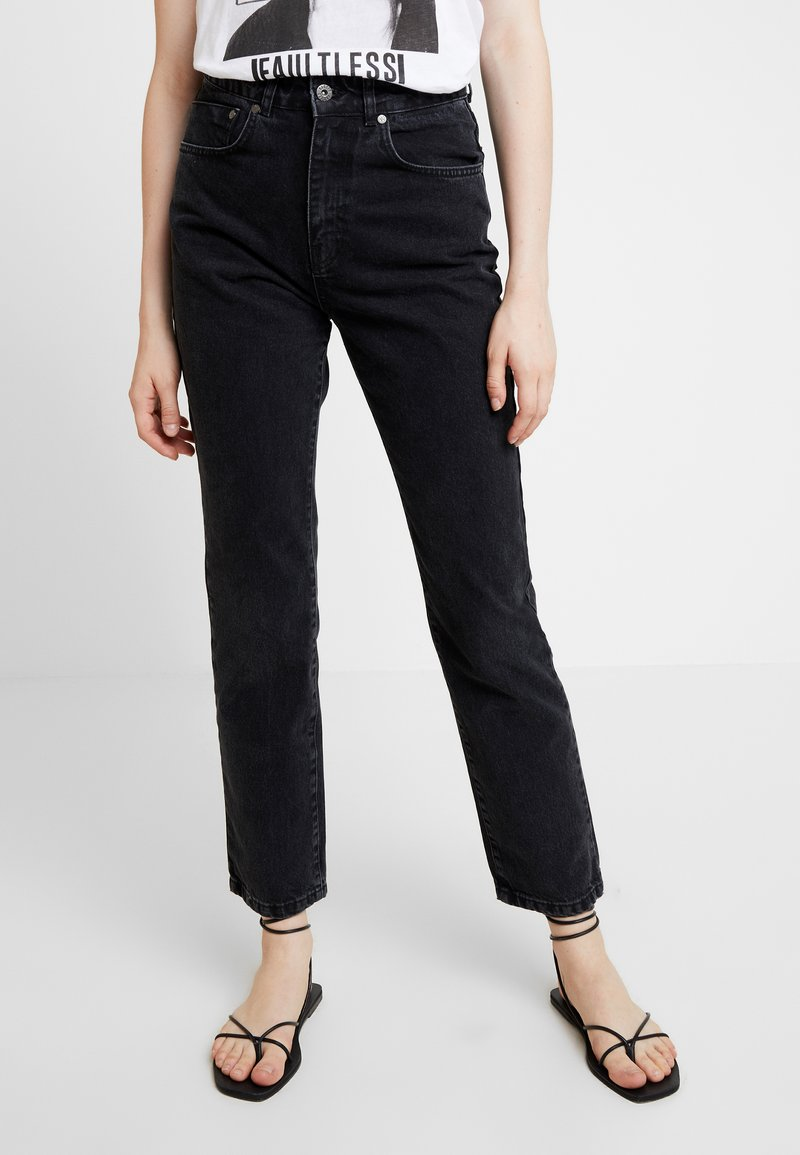 Ragged Jeans - BUTT CUT - Jeansy Relaxed Fit - charcoal