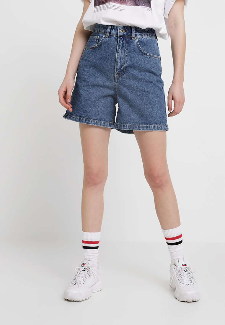 Ragged Jeans - Denim shorts - indigo