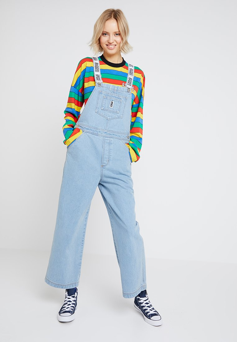 Ragged Jeans - DUNGAREE - Dungarees - light blue