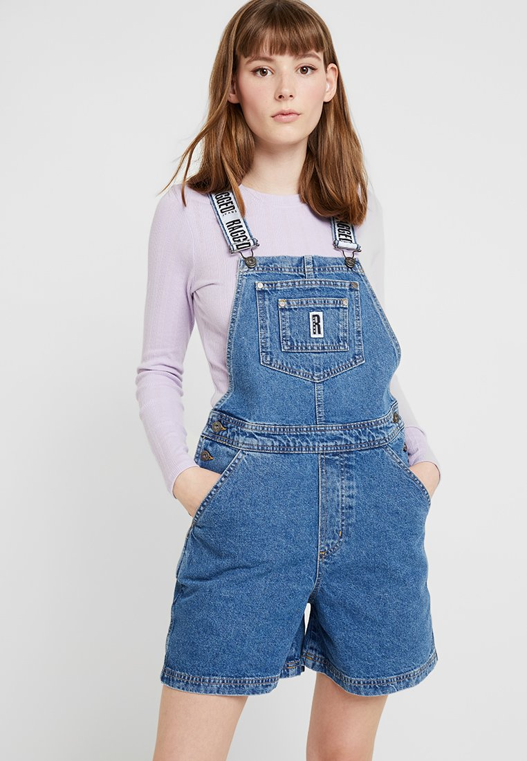 Ragged Jeans - ROMPER - Dungarees - mid blue